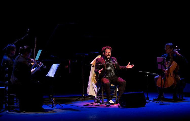 El cantaor Rafael de Utrera, protagonista del ciclo «Flamenco viene del sur» organizado por la Junta de Andalucía