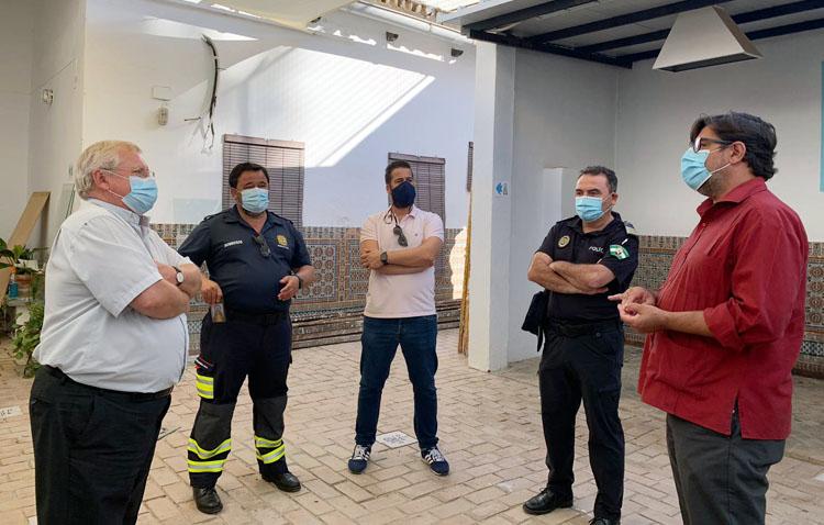 Medidas de desinfección y renovación del aire en el santuario de Consolación para garantizar la seguridad el 8 de septiembre