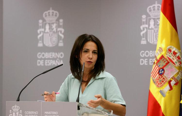 La utrerana Silvia Calzón se estrena como portavoz del ministerio de Sanidad en sustitución de Fernando Simón