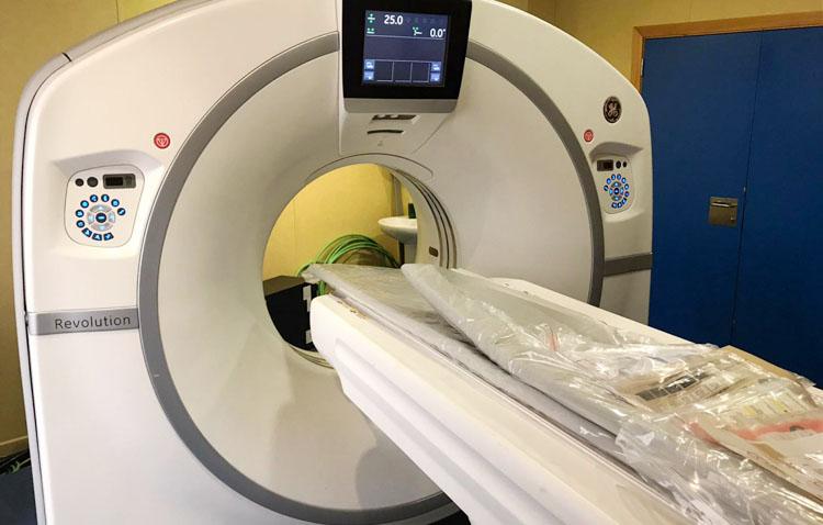 El hospital de Utrera incorporará otro TAC de última generación para mejorar la atención a pacientes de COVID-19