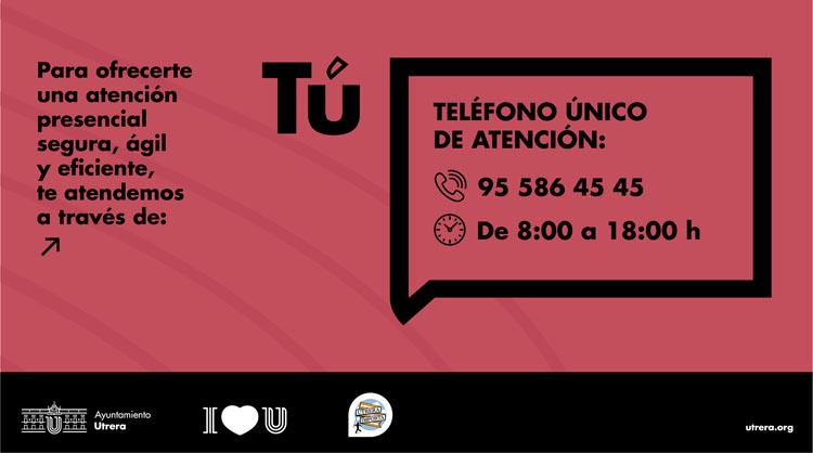 El Ayuntamiento de Utrera pone en marcha un teléfono único de atención al ciudadano para mejorar la atención