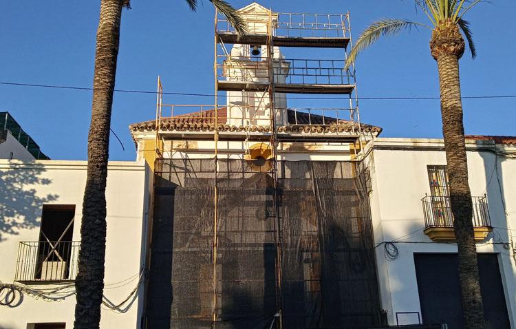 Una nueva vida para la fachada de la capilla de la Trinidad