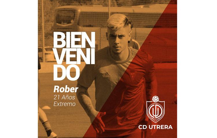 El Club Deportivo Utrera fortalece la zona ofensiva con la incorporación de Rober