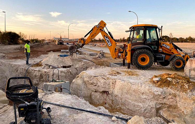 Las obras de urbanización del nuevo polígono «Innova Torno» avanzan «a toda máquina»