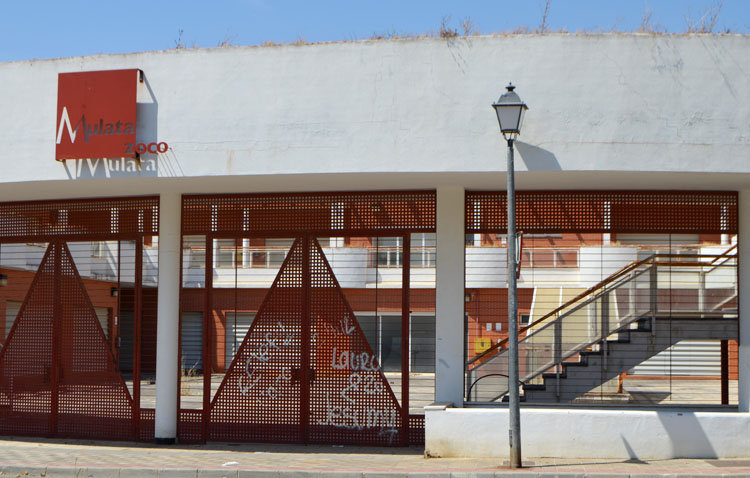 El centro comercial «Mulata Zoco», a la venta por Internet por 1,1 millones de euros sin ni siquiera haberse estrenado
