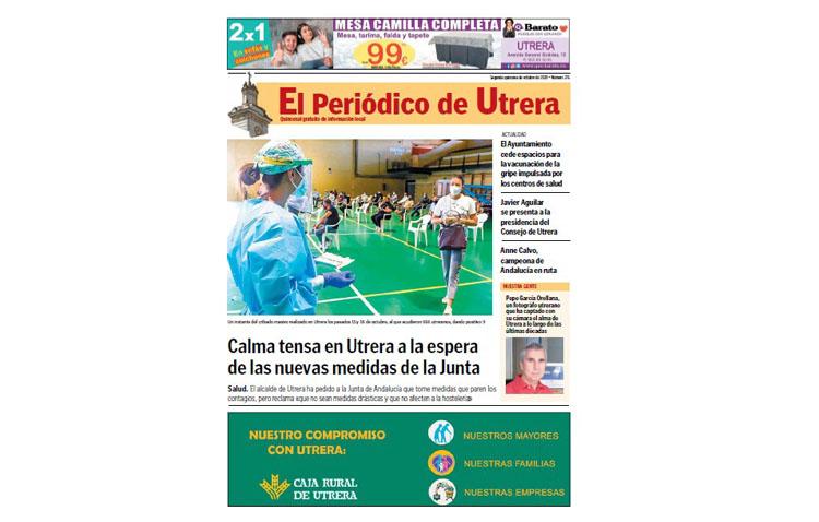 Las últimas novedades de la crisis sanitaria provocada por el coronavirus, protagonistas de «El Periódico de Utrera»
