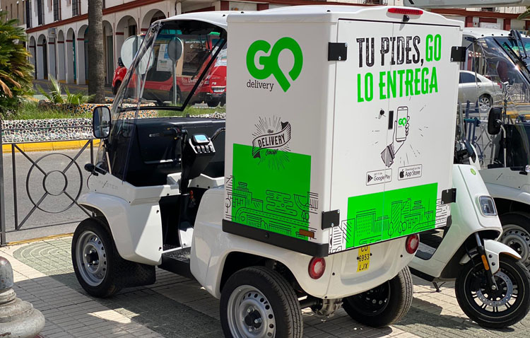 «Go Delivery» da un nuevo paso y comienza a repartir productos de tiendas de ropa, supermercados y jugueterías
