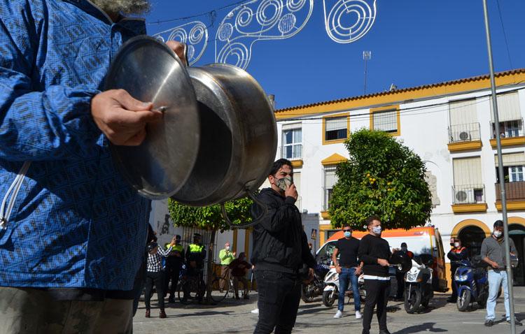 Las nuevas medidas impuestas por la Junta de Andalucía, «una tomadura de pelo» para los hosteleros de Utrera