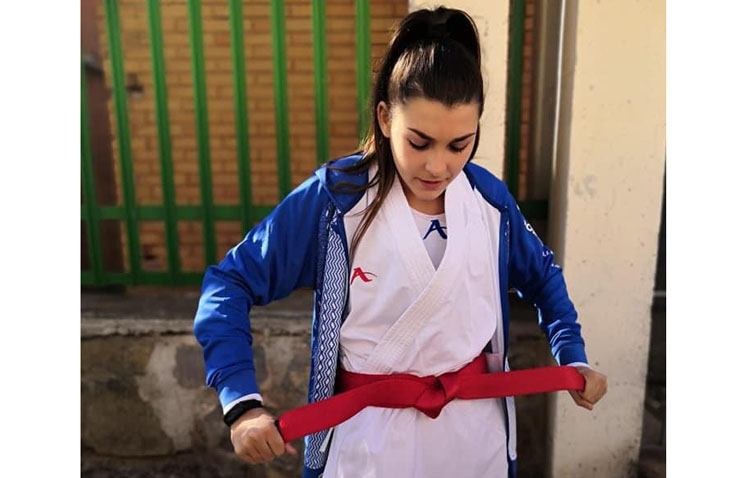 La karateka utrerana Marta Cabrera, seleccionada para representar a Andalucía en el campeonato nacional