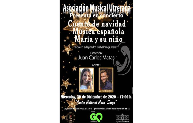 Sones navideños en la Casa Surga con un concierto de la Asociación Musical Utrerana
