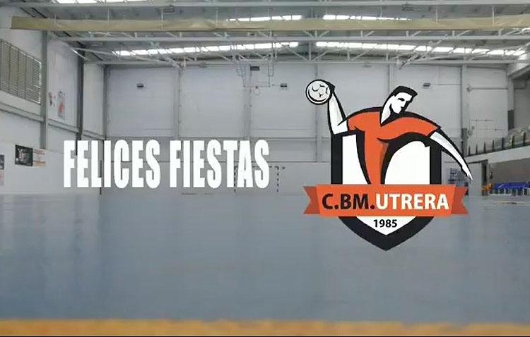 El Club Balonmano Utrera pinta de color sus deseos para 2021 en una especial felicitación navideña