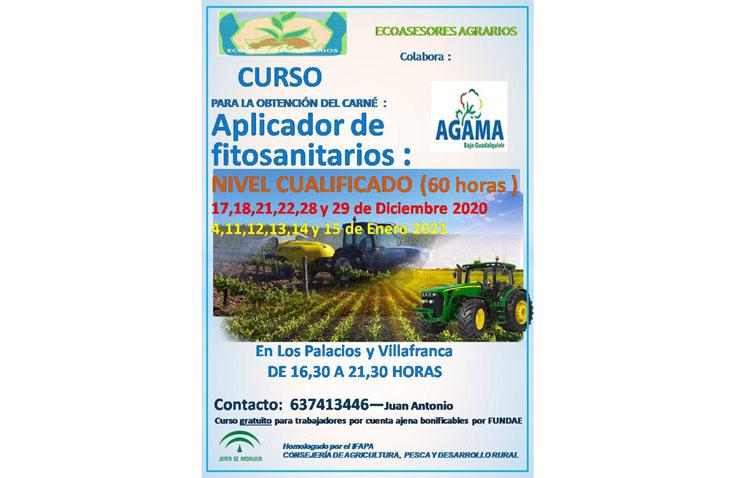 Un curso para obtener el carné de aplicador de fitosanitarios
