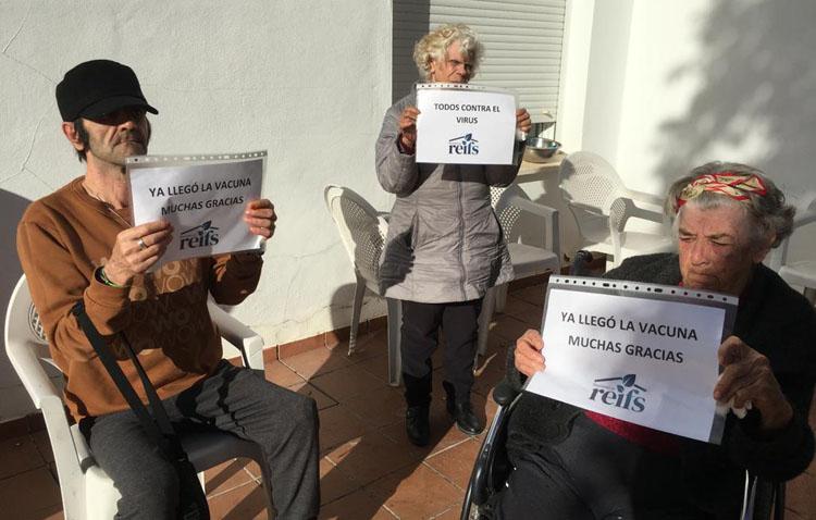 Los mayores de la residencia geriátrica de Utrera, a pocas horas de la inmunidad frente a la COVID-19
