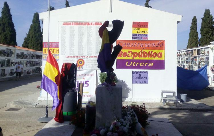 «Construyendo ReDpública» conmemorará el 90º aniversario de la Segunda República con un acto en el cementerio de Utrera