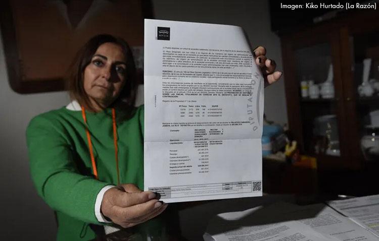La ruina de una utrerana que debe medio millón de euros por la herencia de su padre tras fallecer en 2011