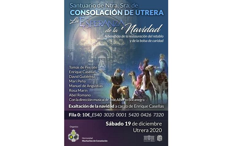 El recital navideño de los Muchachos de Consolación se celebrará el sábado a las 19.30 horas