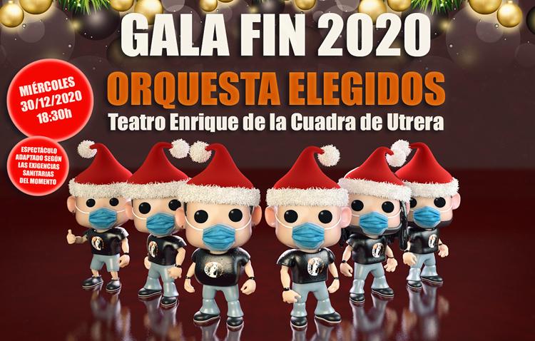 La orquesta «Elegidos» ofrecerá una gala de fin de año en el teatro de Utrera