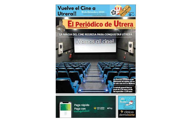 La apertura de los cines de Utrera, protagonista de una edición muy especial de «El Periódico de Utrera»