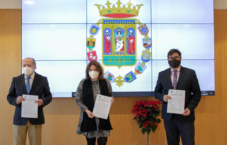 Acuerdo de Diputación y Consorcio del Huesna para financiar las obras del túnel que mejorará el abastecimiento en Utrera