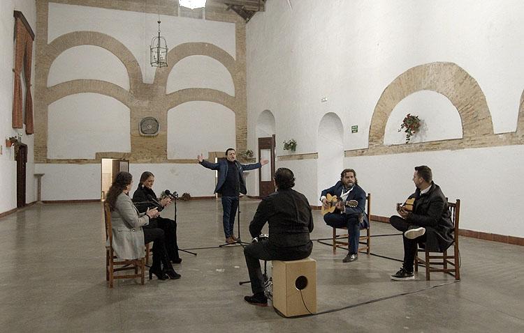 Utrera, protagonista del programa musical de Manuel Lombo en Canal Sur