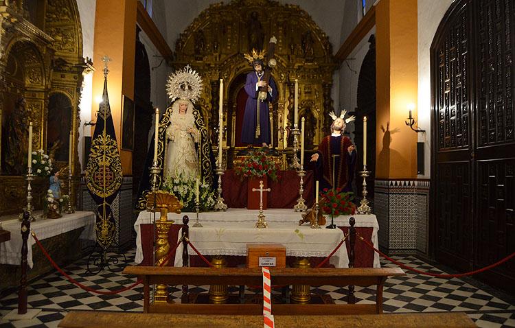 La capilla de San Bartolomé reajusta sus horarios ante la expansión de la pandemia