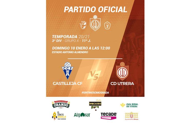 CASTILLEJA C.F. – C.D. UTRERA: Estrenar el nuevo año con victoria