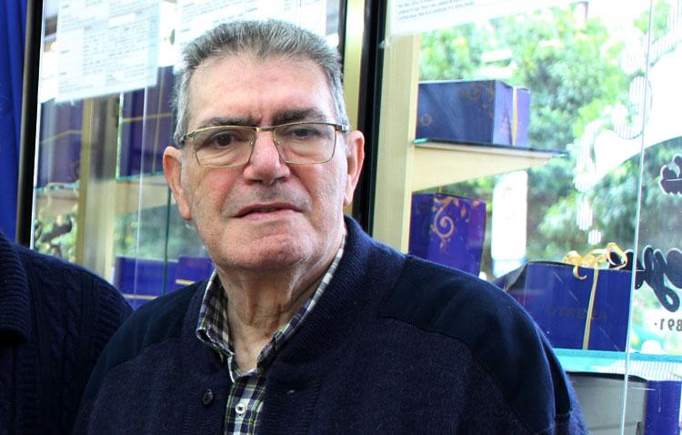 Fallece a los 81 años Carlos Martínez Soto, uno de los históricos gerentes de Confitería Reyes