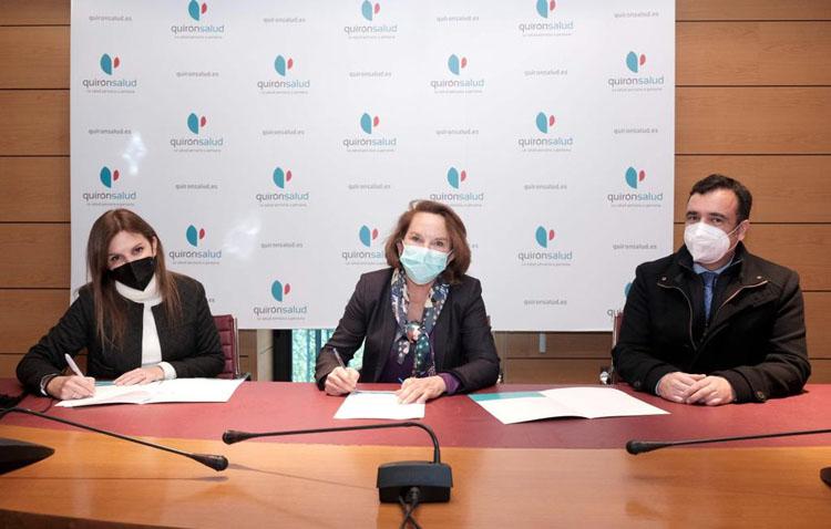 Un convenio de los hospitales Quirónsalud Sagrado Corazón y San Agustín para la atención a pacientes obstétricas de Utrera