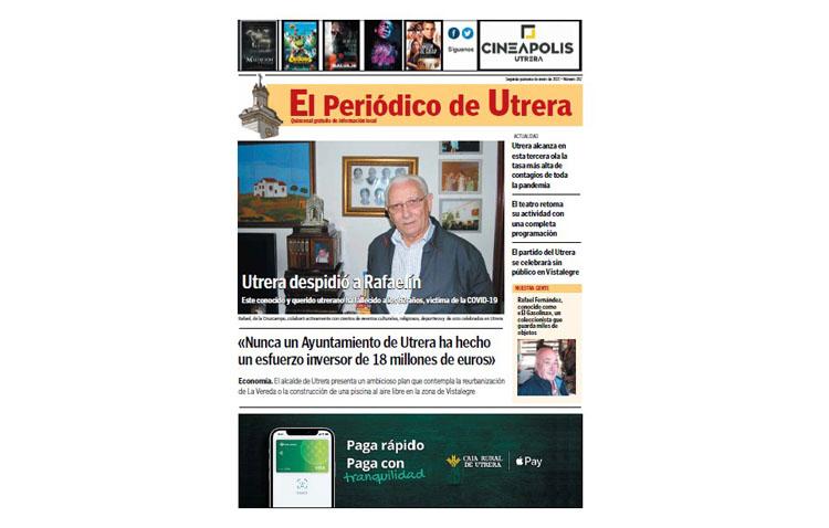 El histórico plan de inversiones y la evolución de la pandemia, protagonistas de «El Periódico de Utrera»