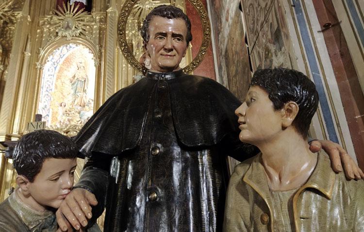 Los Salesianos celebran en Utrera los cultos en honor de San Juan Bosco