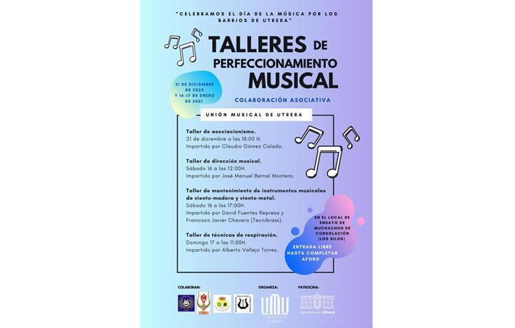 Fin de semana con talleres de perfeccionamiento musical en Utrera