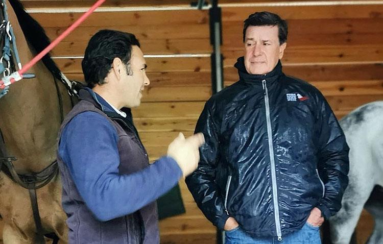 Cayetano Martínez de Irujo se incorpora al equipo hípico del utrerano Antonio Cejudo