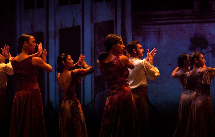 El Ballet Flamenco de Andalucía celebra en Utrera sus bodas de plata