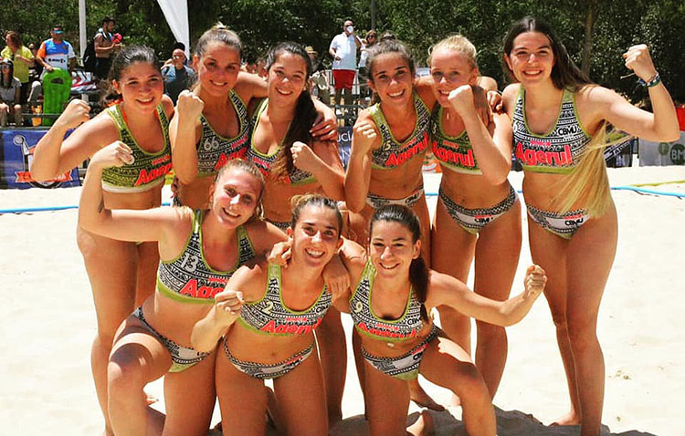 El logro del Balonmano Playa Utrera, un hito que ningún otro equipo femenino local ha firmado en la historia