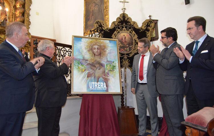 La presentación del cartel de la Semana Santa de Utrera cambia por completo su formato