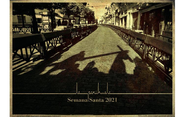 Un recuerdo en blanco y negro, protagonista del cartel de Semana Santa editado por la tertulia «La parihuela»