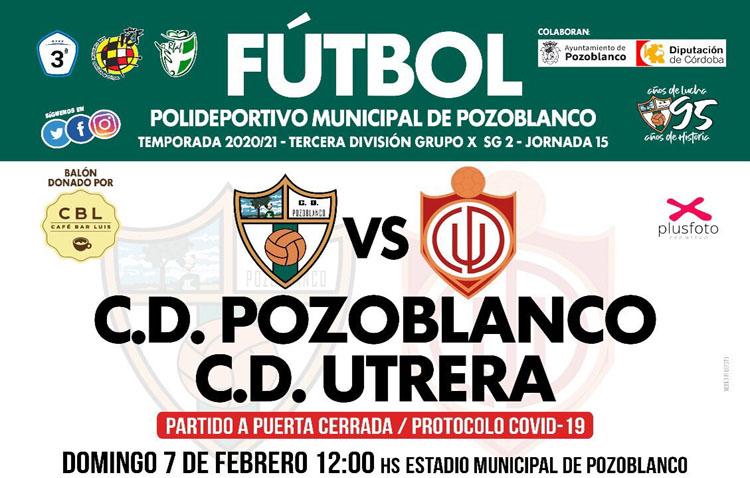 C.D. POZOBLANCO – C.D. UTRERA: Solo sirve la victoria