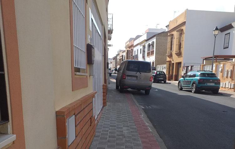 Aceras como aparcamientos