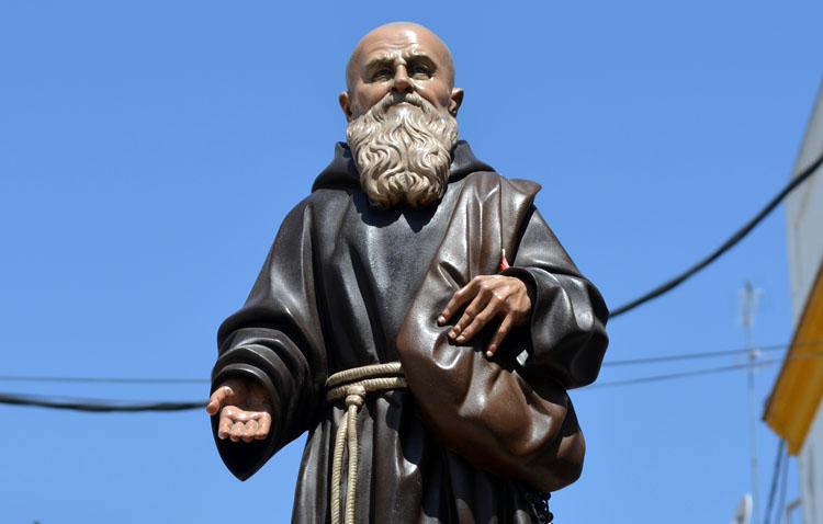 La parroquia de San José celebra los cultos anuales en honor al beato Fray Leopoldo