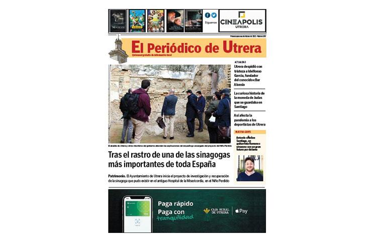 La evolución de la pandemia y el proyecto de futuro en el Niño Perdido, entre los contenidos de «El Periódico de Utrera»