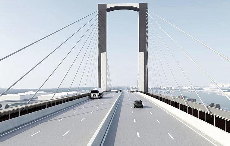 La empresa Tecade ejecutará el proyecto de ampliación del puente del Centenario