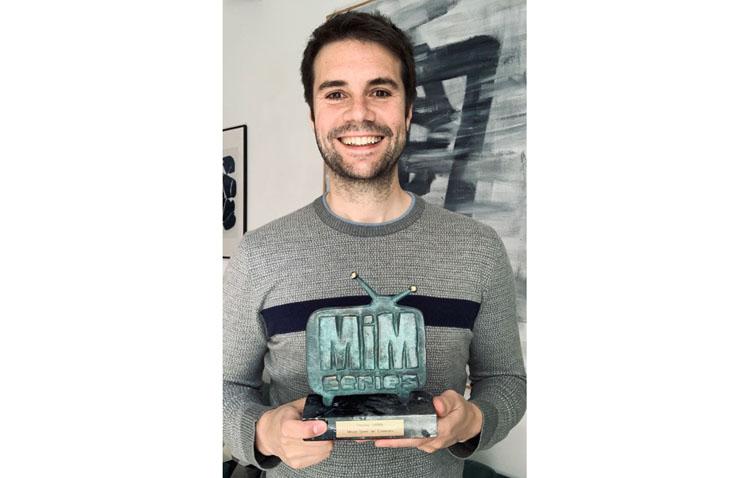 Un nuevo premio para el utrerano Álvaro Carmona gracias a su serie creada para Atresmedia