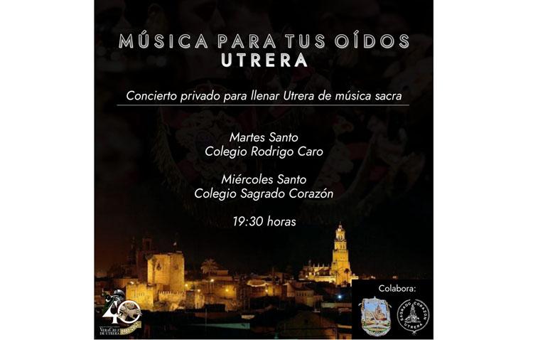 La banda de la Vera-Cruz pondrá un hilo musical cofrade a las tardes del Martes Santo y del Miércoles Santo