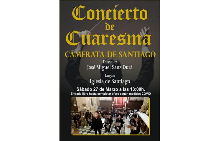 La Camerata de Santiago, protagonista del único concierto de marchas procesionales de esta Cuaresma en Utrera