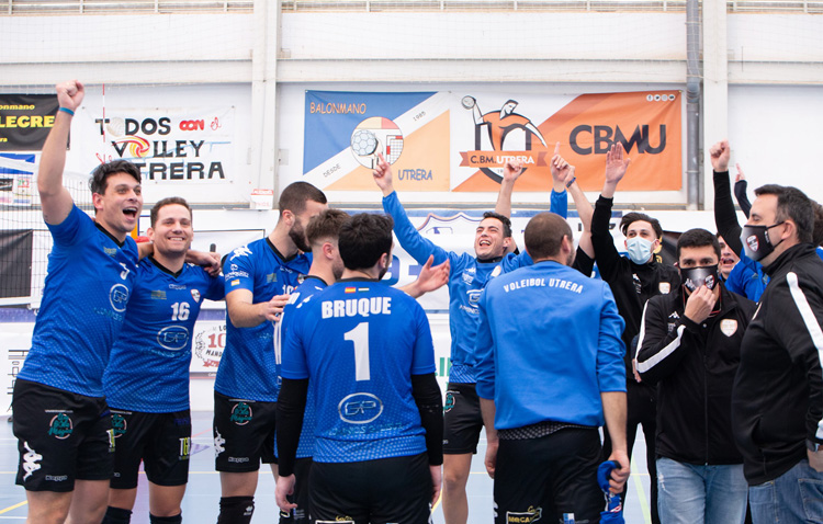 La Federación Española de Voleibol elige Utrera como sede para el play off de ascenso a SuperLiga-2