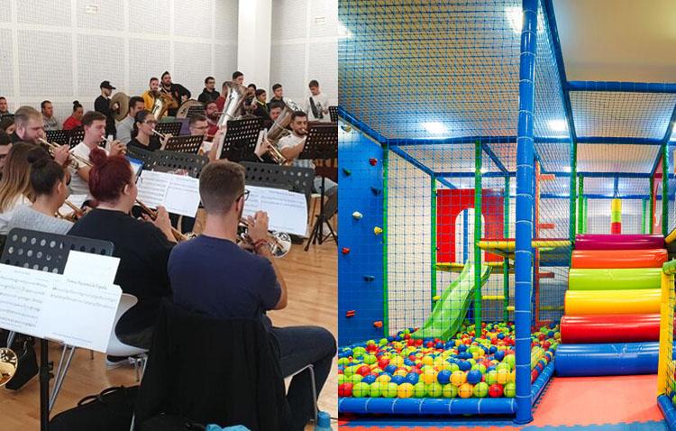 Autorizados con condiciones los ensayos y conciertos de las bandas, y la apertura de los locales de ocio infantil