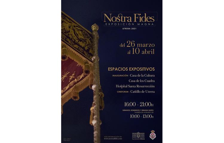 La magna exposición cofrade «Nostra Fides» abre sus puertas este viernes en Utrera