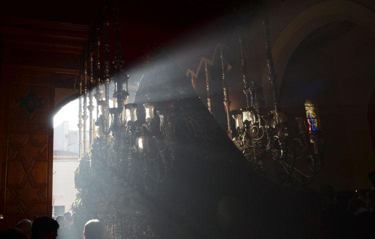 La salesiana iglesia del Carmen, centro de las miradas este Martes Santo en Utrera