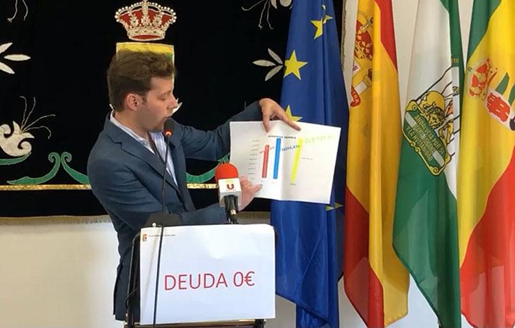 El Ayuntamiento de Los Molares, camino de alcanzar la «deuda a cero» tras «el esfuerzo» de dos años de gobierno del PP