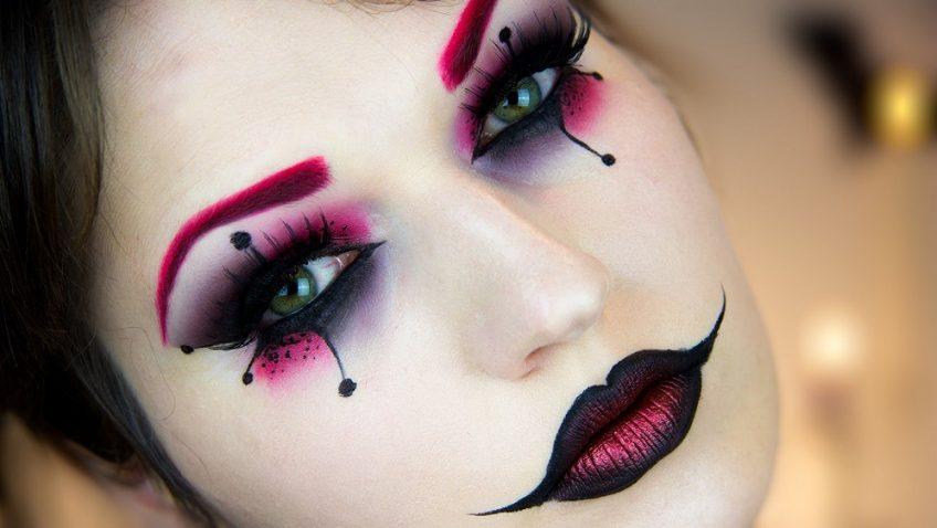 6 sencillos trucos para maquillarse y pintarse la cara al disfrazarse